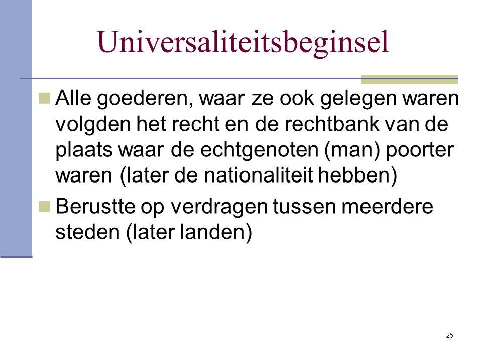 Universaliteitsbeginsel