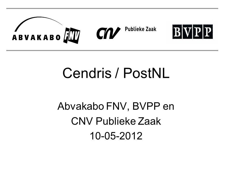 Abvakabo FNV, BVPP en CNV Publieke Zaak 10-05-2012