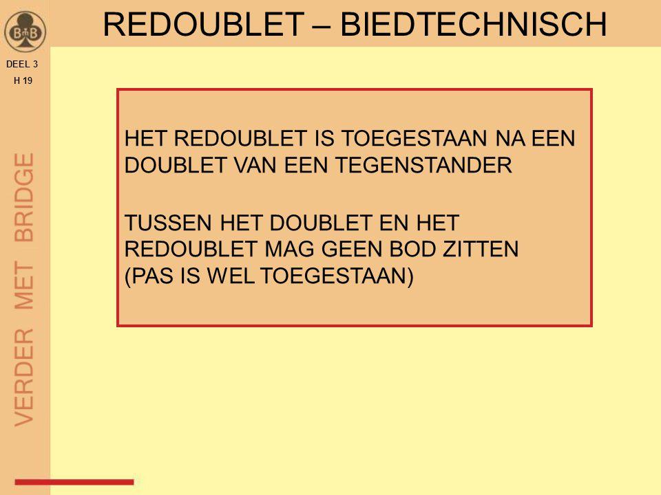 REDOUBLET – BIEDTECHNISCH