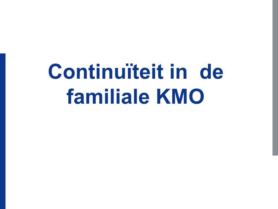 Continuïteit in de familiale KMO