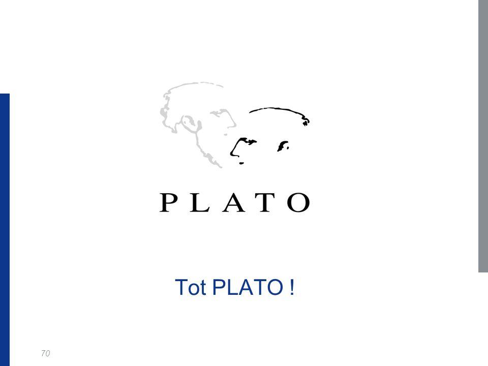 Tot PLATO !