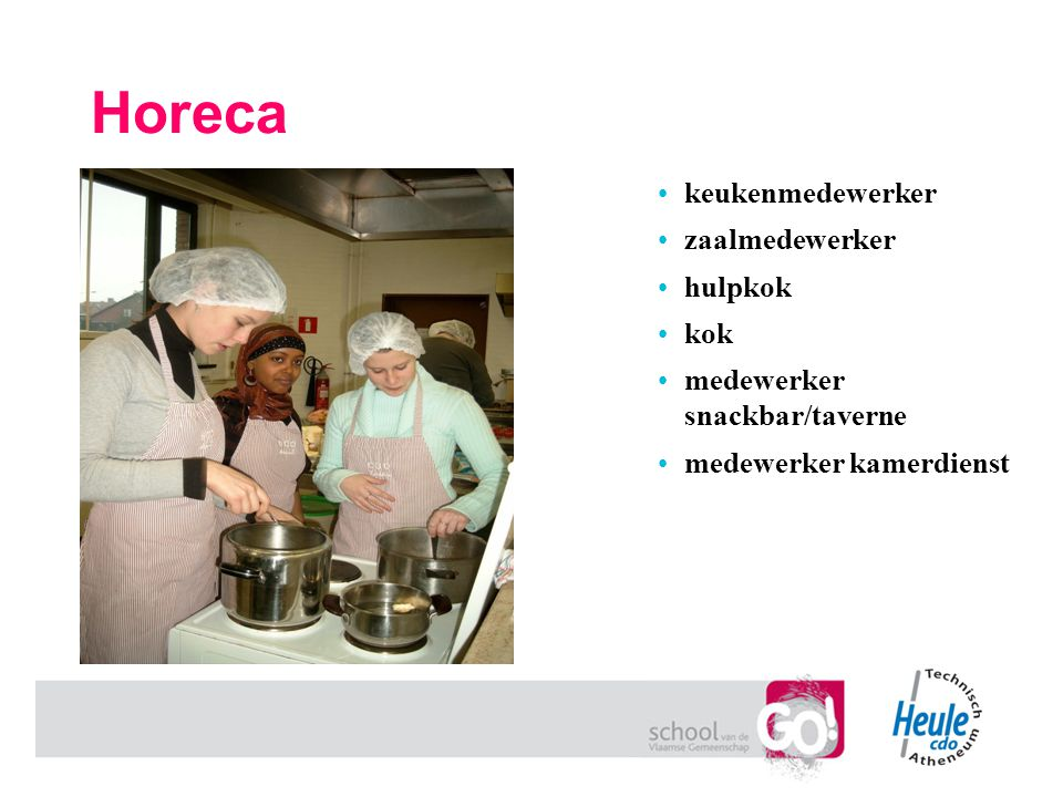 Horeca keukenmedewerker zaalmedewerker hulpkok kok