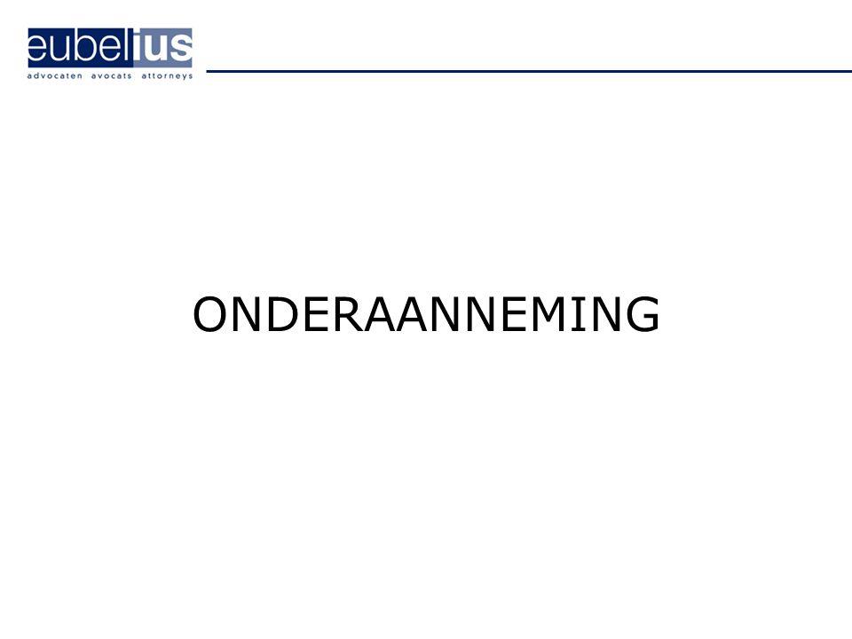 ONDERAANNEMING