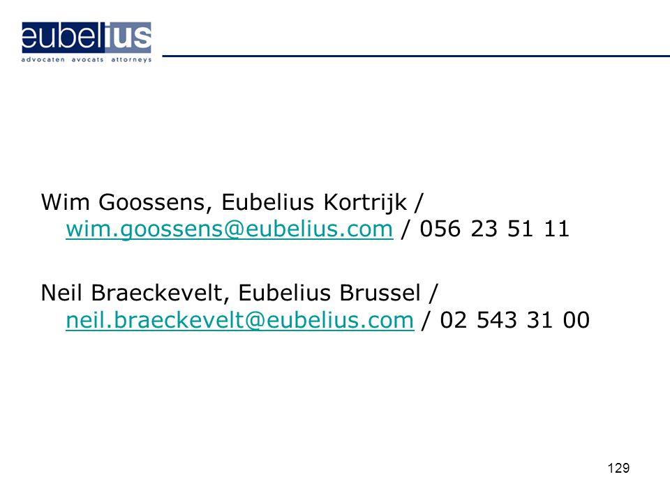 Wim Goossens, Eubelius Kortrijk / wim. goossens@eubelius