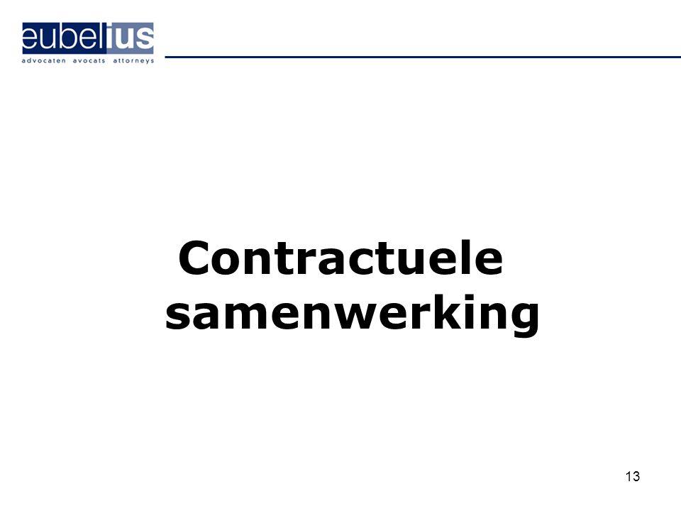 Contractuele samenwerking