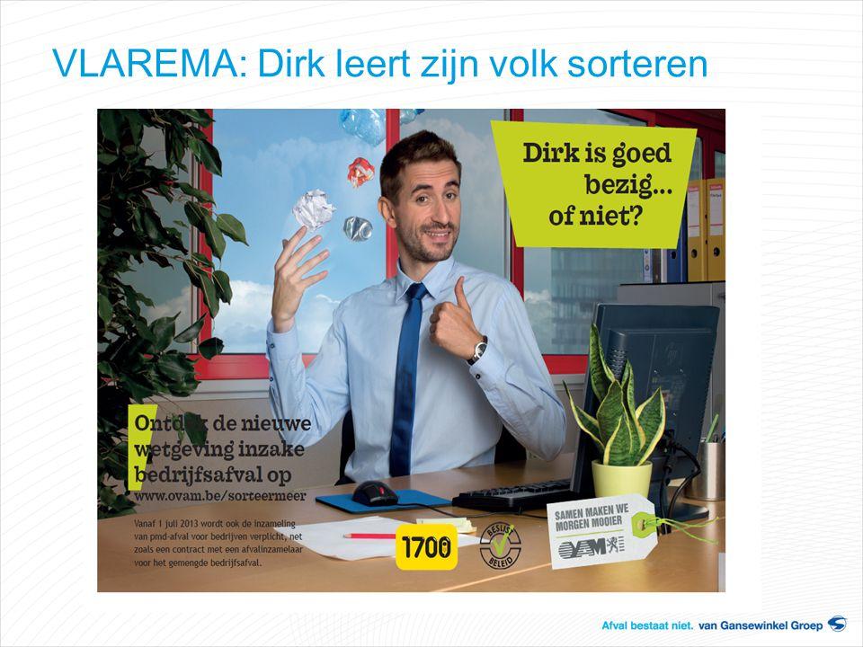 VLAREMA: Dirk leert zijn volk sorteren