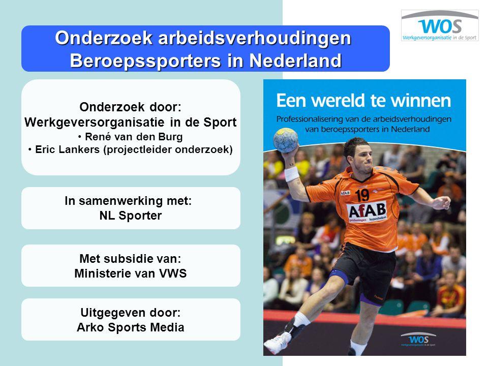 Onderzoek arbeidsverhoudingen Beroepssporters in Nederland