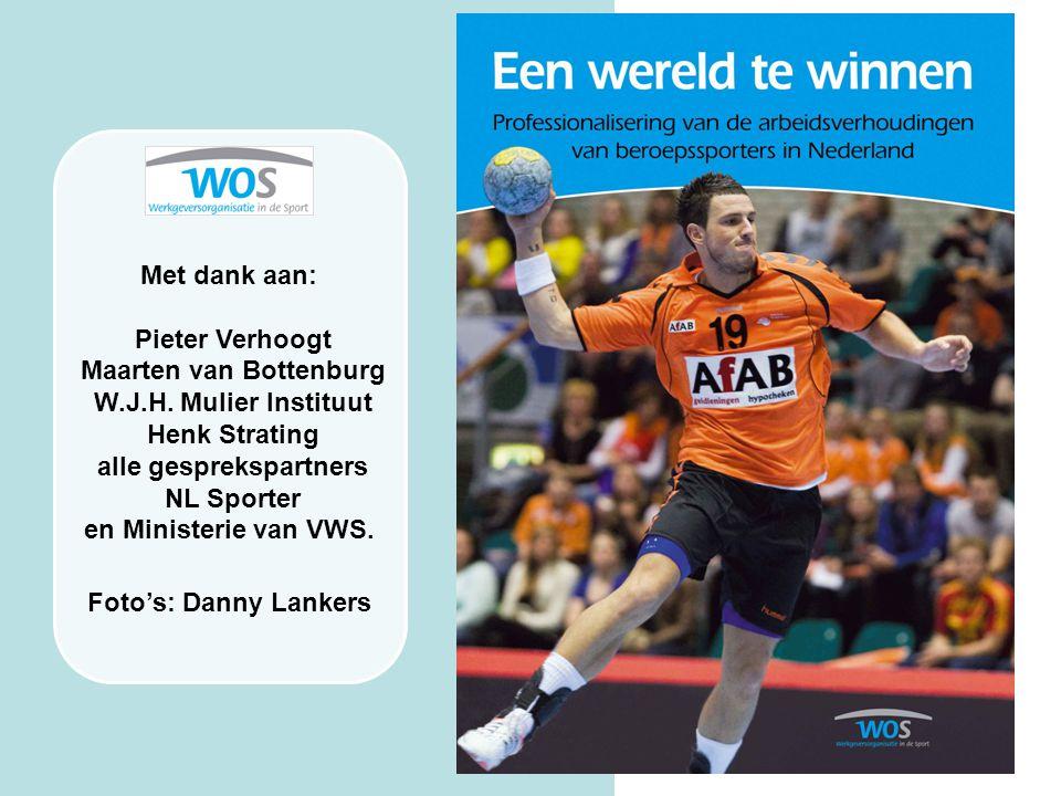 Maarten van Bottenburg alle gesprekspartners