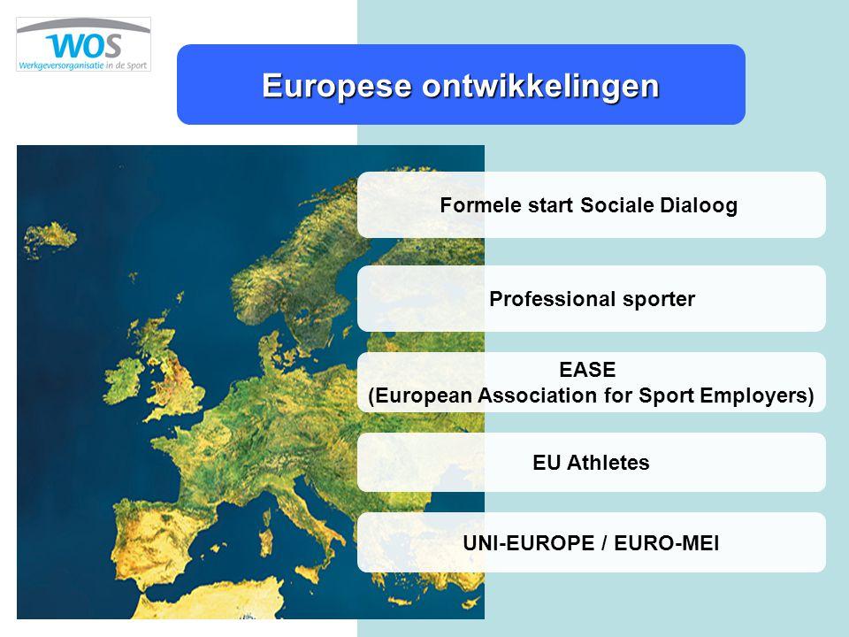 Europese ontwikkelingen