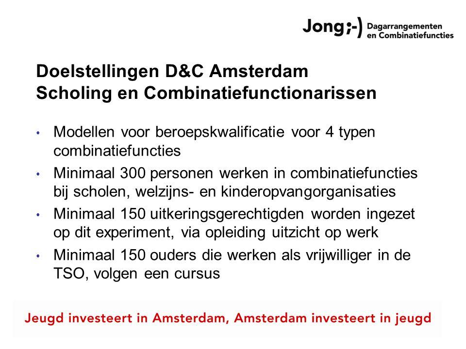 Doelstellingen D&C Amsterdam Scholing en Combinatiefunctionarissen