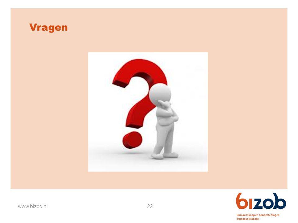 Vragen www.bizob.nl