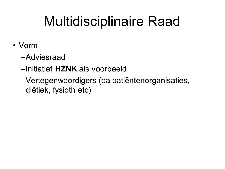 Multidisciplinaire Raad