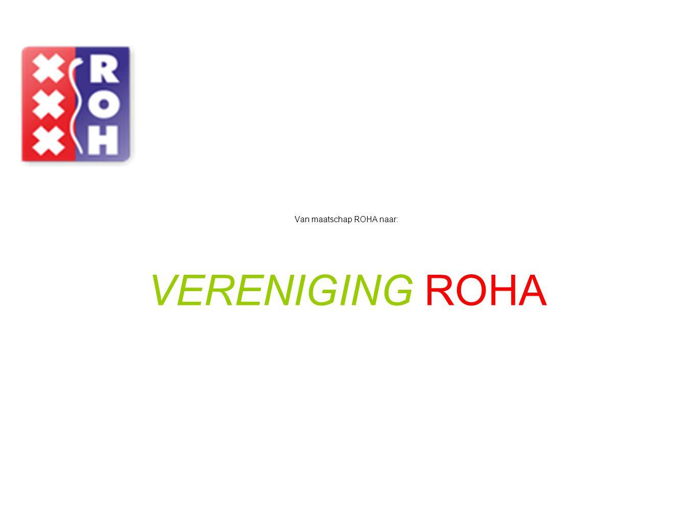 Van maatschap ROHA naar:
