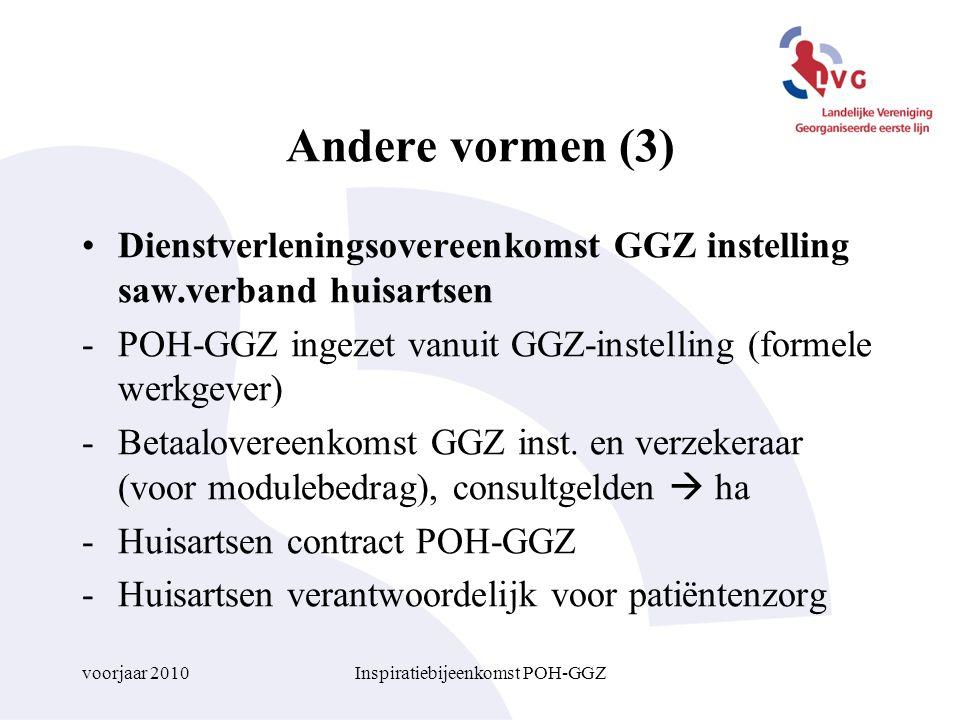 Inspiratiebijeenkomst POH-GGZ