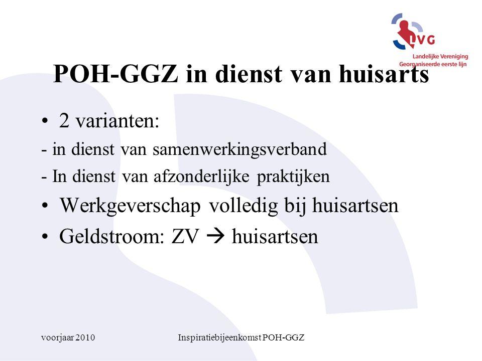 POH-GGZ in dienst van huisarts