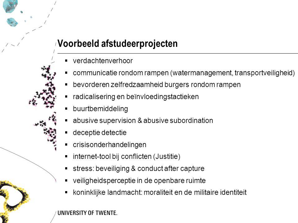 Voorbeeld afstudeerprojecten