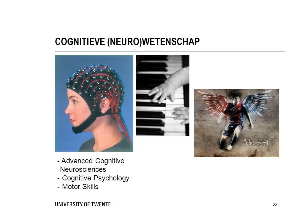 COGNITIEVE (NEURO)WETENSCHAP