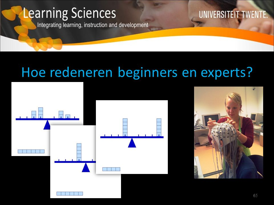 Hoe redeneren beginners en experts