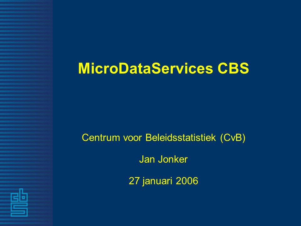 MicroDataServices CBS