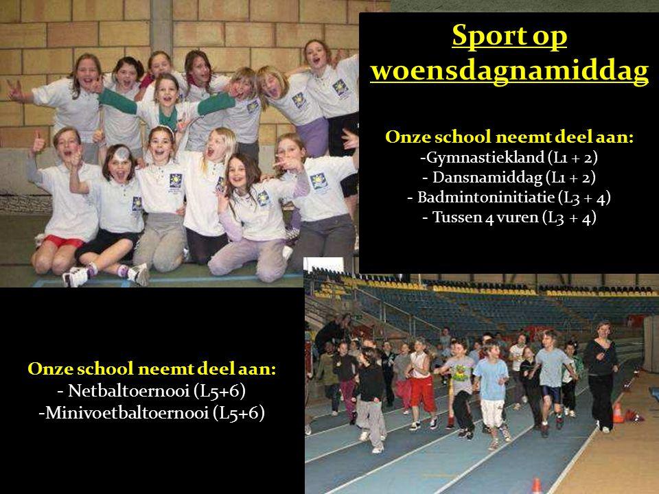 Sport op woensdagnamiddag