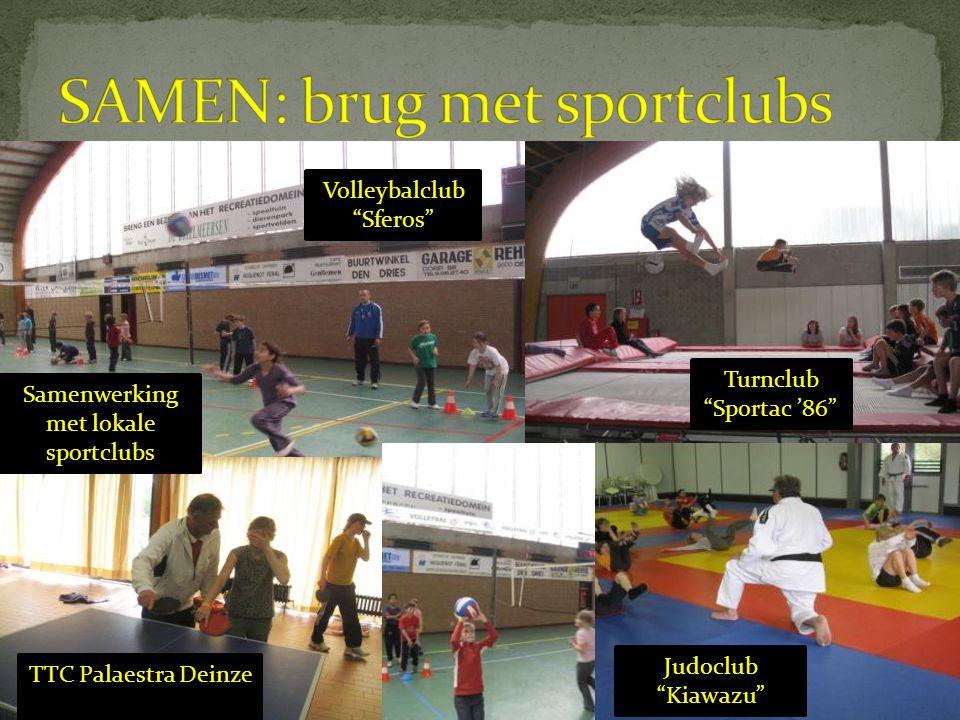 SAMEN: brug met sportclubs