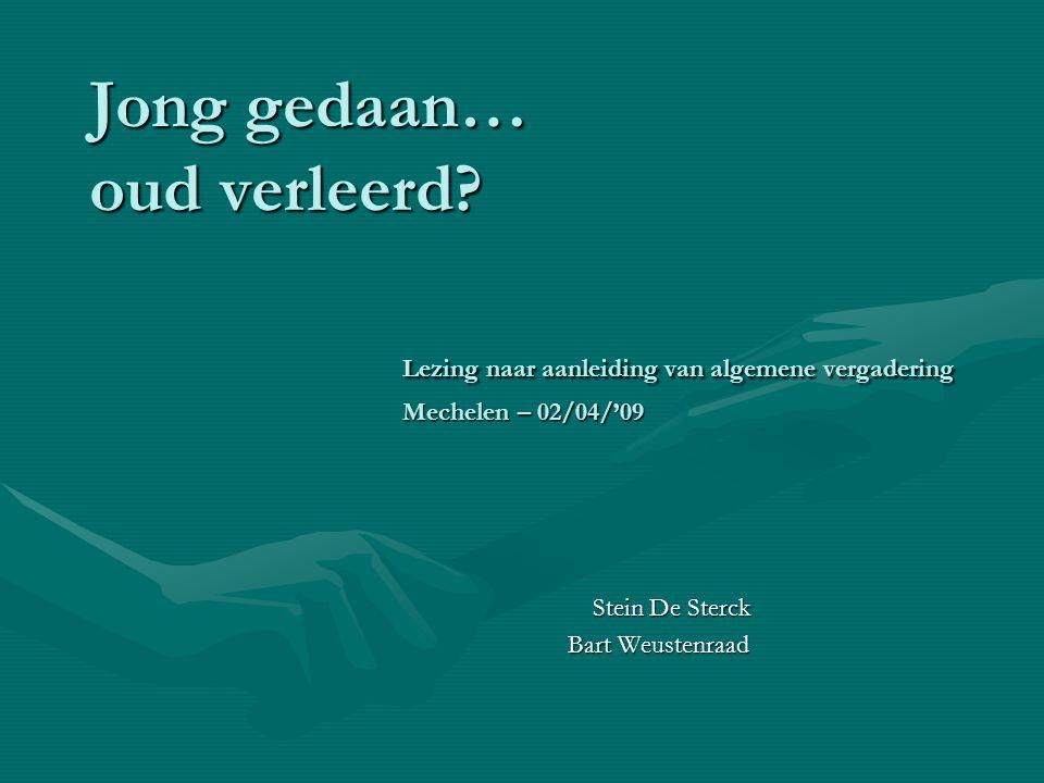 Stein De Sterck Bart Weustenraad