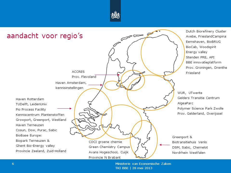 aandacht voor regio's Dutch Biorefinery Cluster