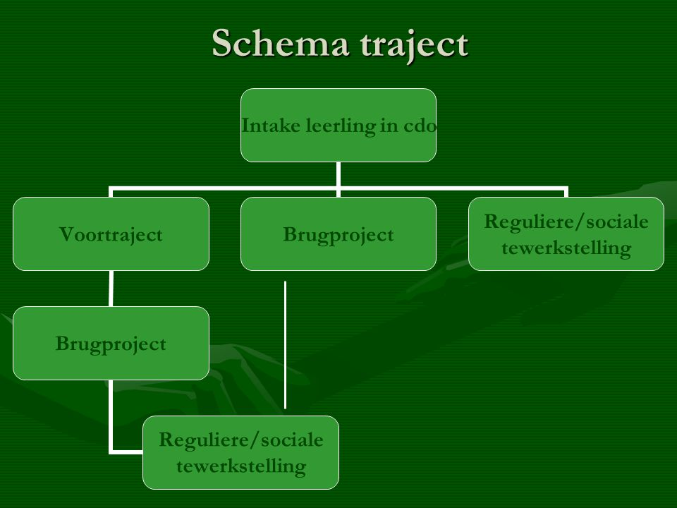 Schema traject