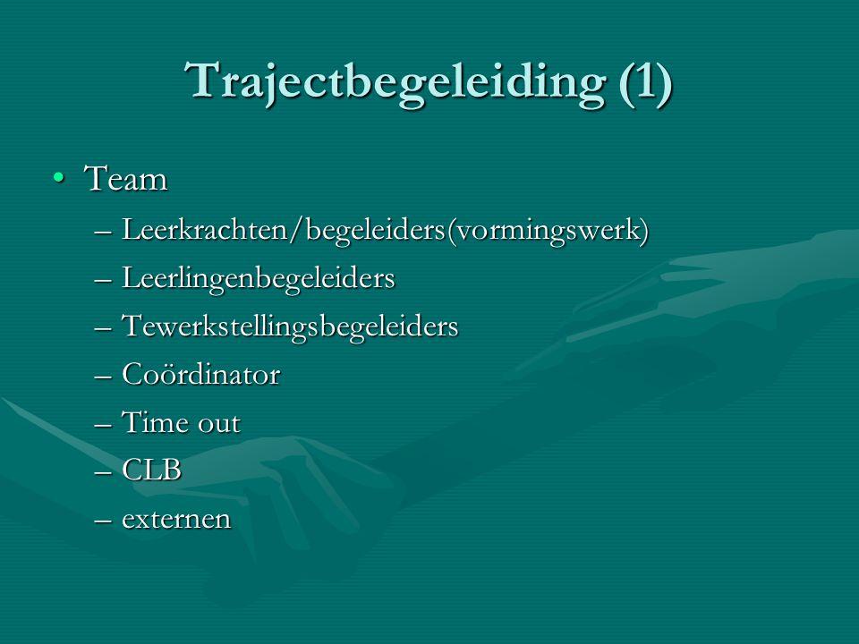 Trajectbegeleiding (1)