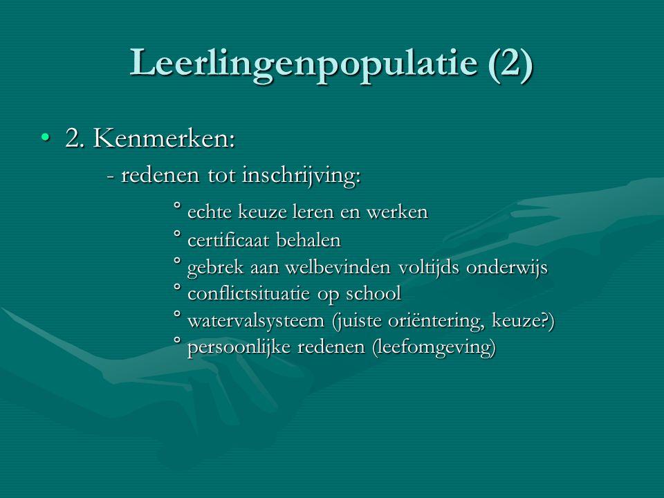 Leerlingenpopulatie (2)
