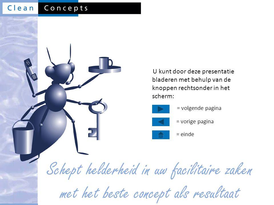U kunt door deze presentatie bladeren met behulp van de knoppen rechtsonder in het scherm: