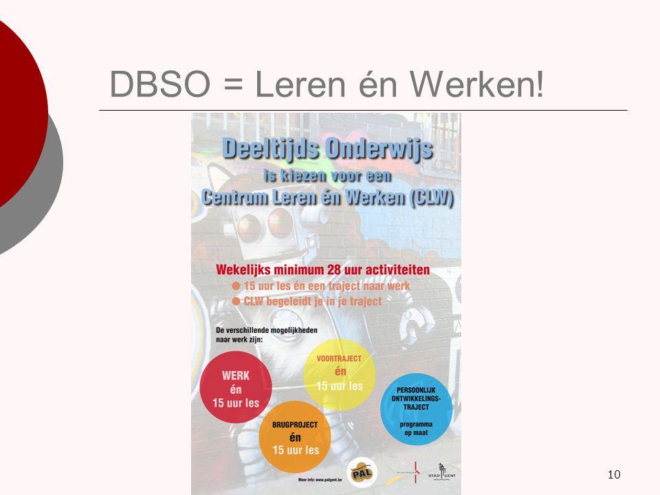 DBSO = Leren én Werken!