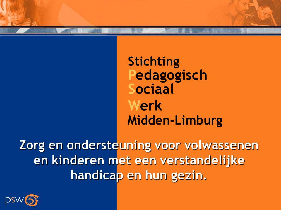 Pedagogisch Sociaal Werk Stichting Midden-Limburg
