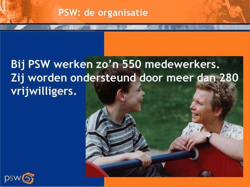 Bij PSW werken zo'n 550 medewerkers.