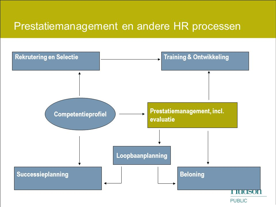 Prestatiemanagement en andere HR processen