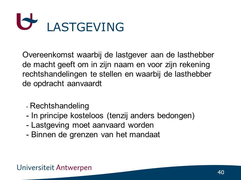 LASTGEVING
