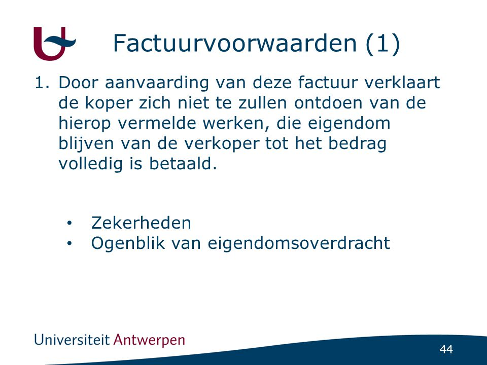 Factuurvoorwaarden (1)