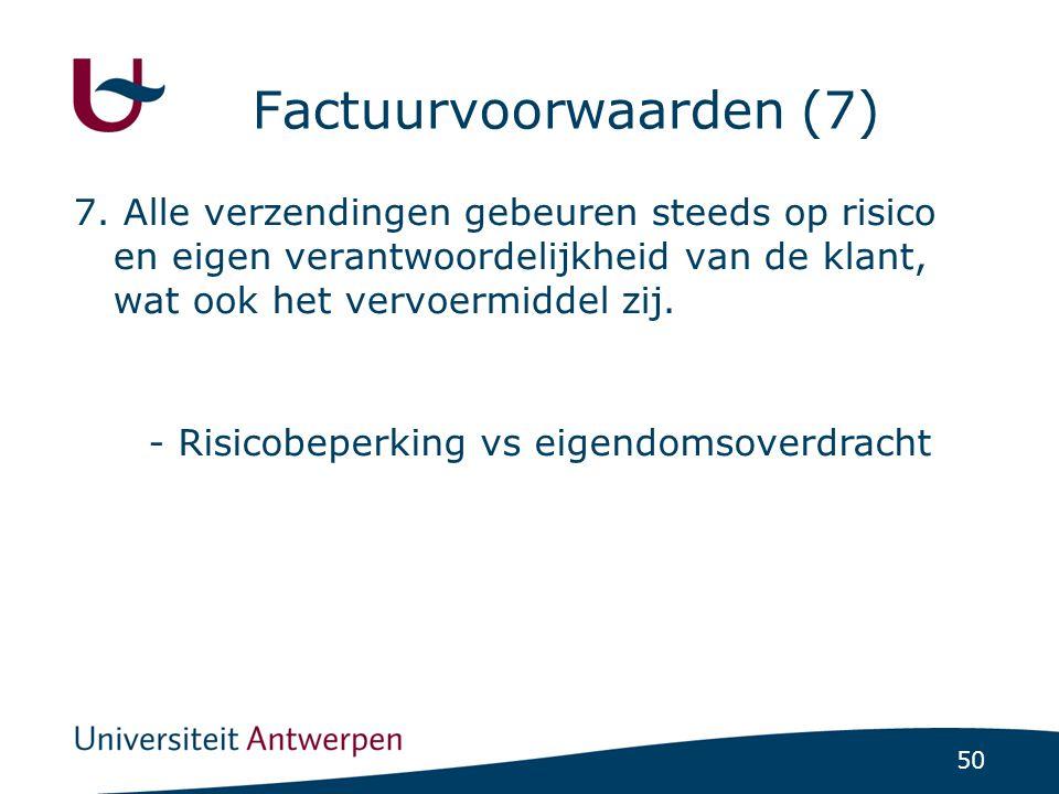 Factuurvoorwaarden (7)
