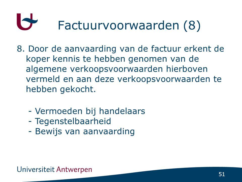 Factuurvoorwaarden (8)