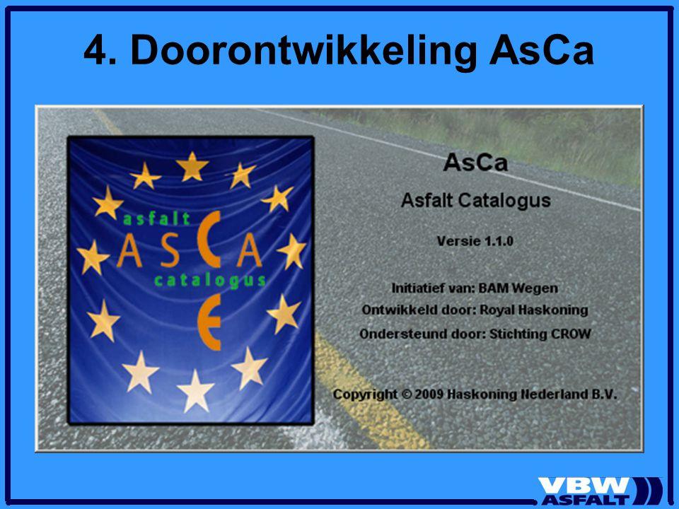 4. Doorontwikkeling AsCa