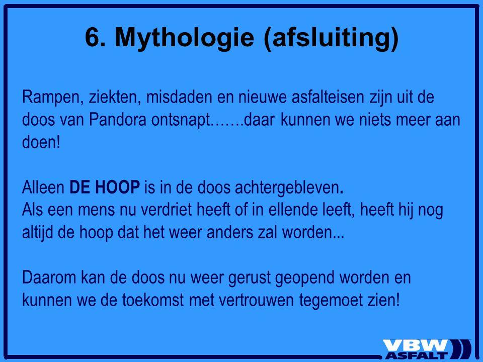 6. Mythologie (afsluiting)