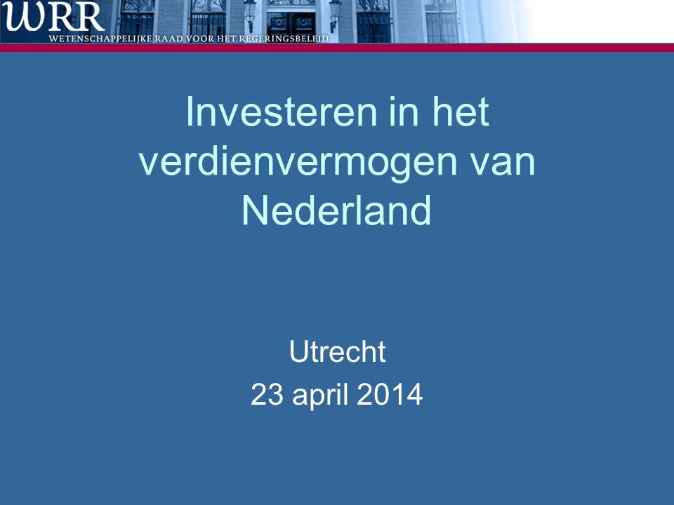 Investeren in het verdienvermogen van Nederland