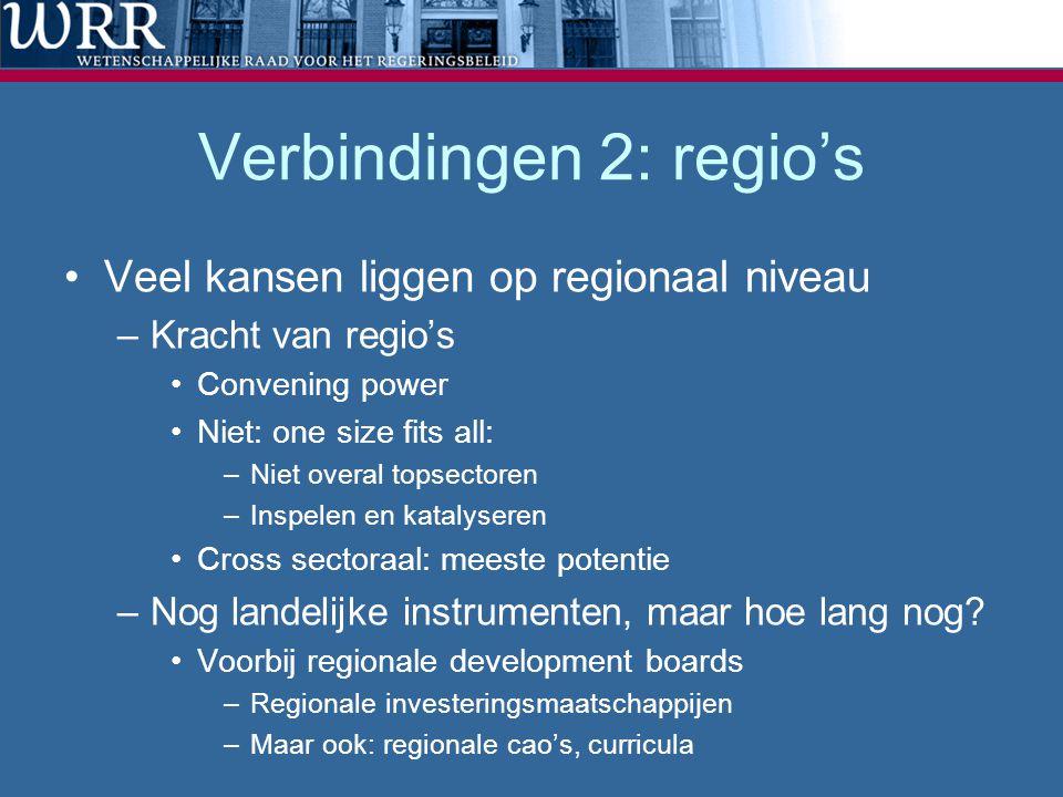 Verbindingen 2: regio's