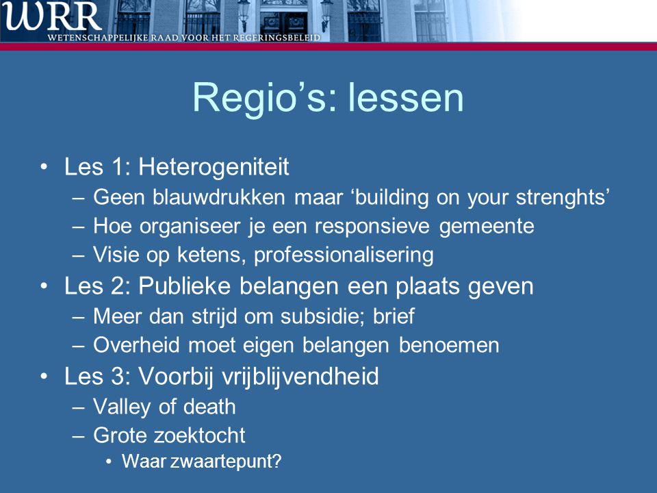 Regio's: lessen Les 1: Heterogeniteit