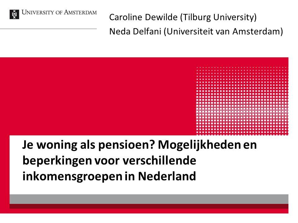 Caroline Dewilde (Tilburg University)