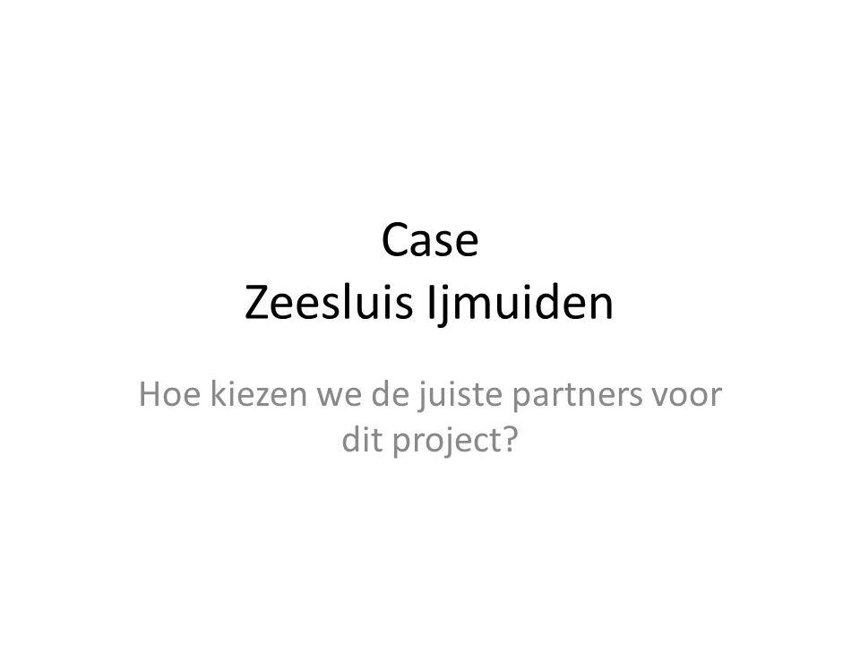 Case Zeesluis Ijmuiden