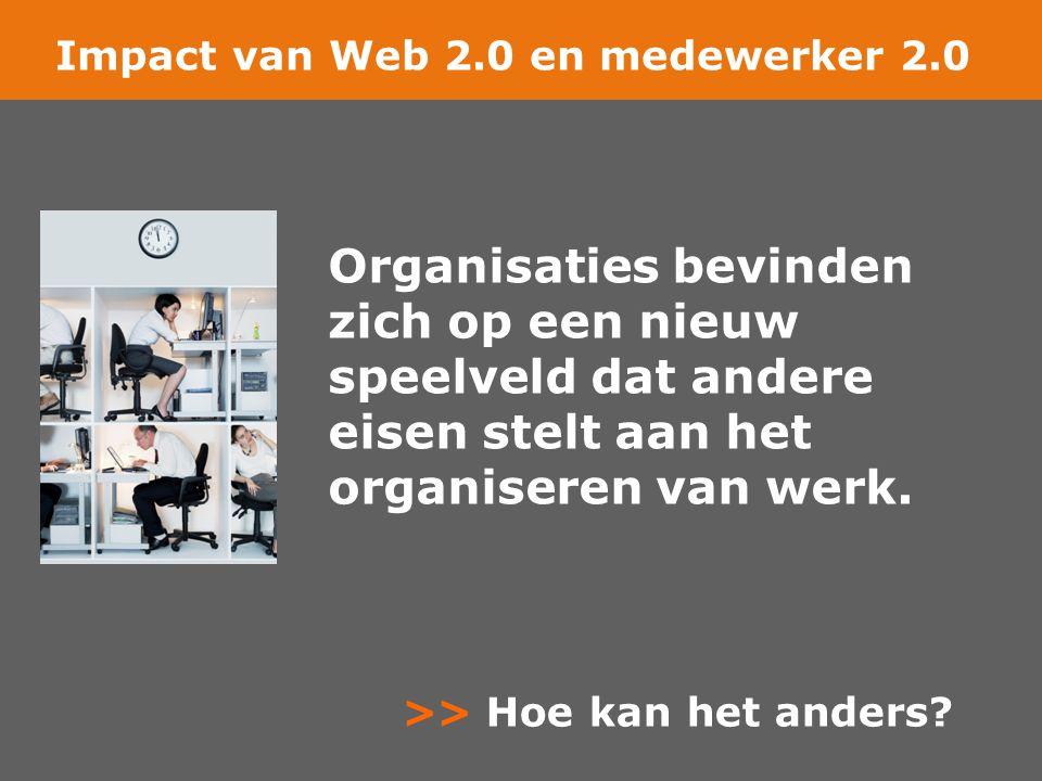 Impact van Web 2.0 en medewerker 2.0