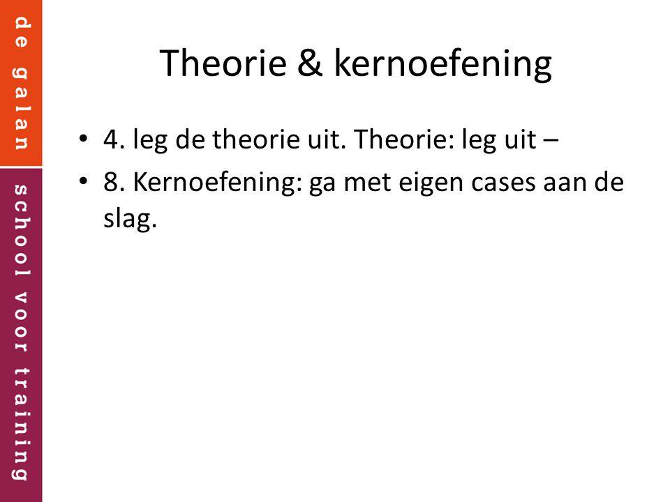 Theorie & kernoefening