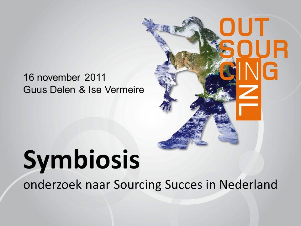 Symbiosis onderzoek naar Sourcing Succes in Nederland