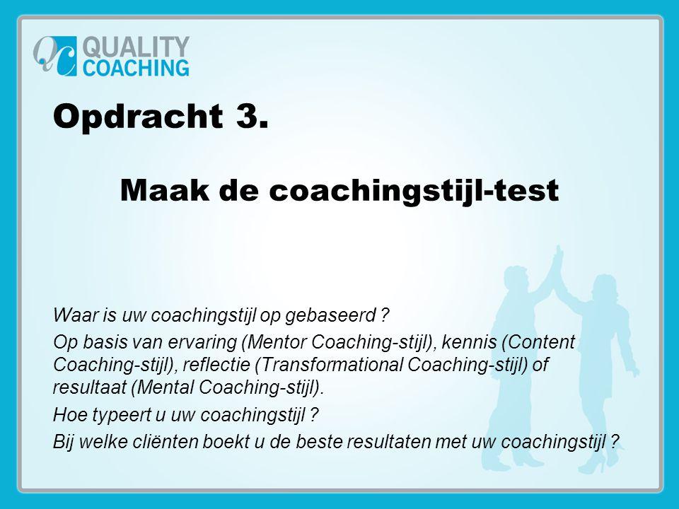 Maak de coachingstijl-test